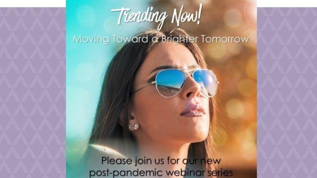 Moving towards a brighter tomorrow! LIVE WEBINAR Thurs 25 Feb 2021 @16:00