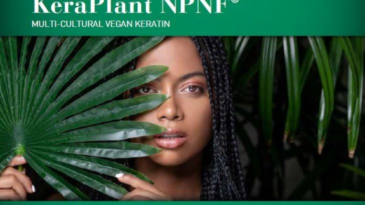 NEW Vegan keratin for treating relaxed & bleached hair