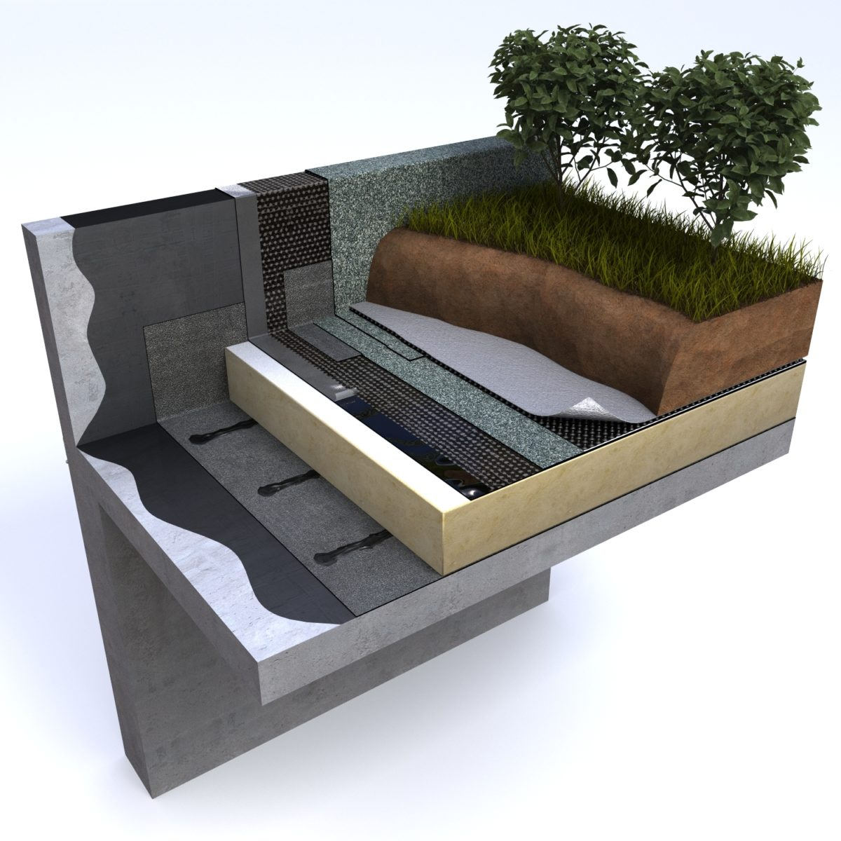 Example Of A Living Roof Design