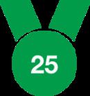 Gaurantee 25