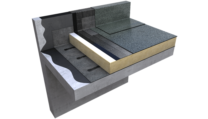 3 D still Hyranger warm roof concrete no finishes