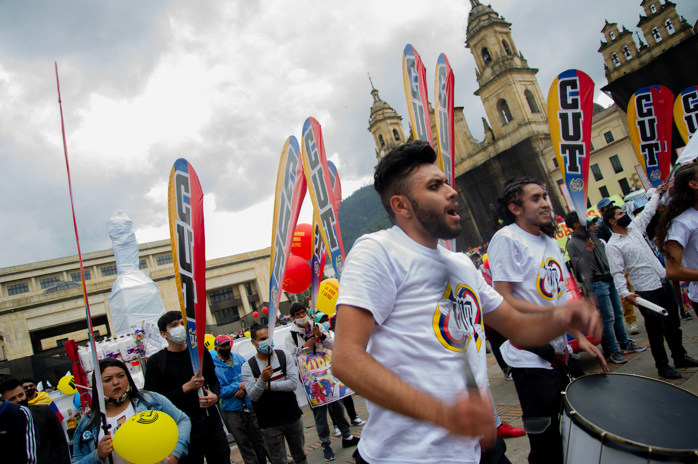 Working people continue to organise in Colombia