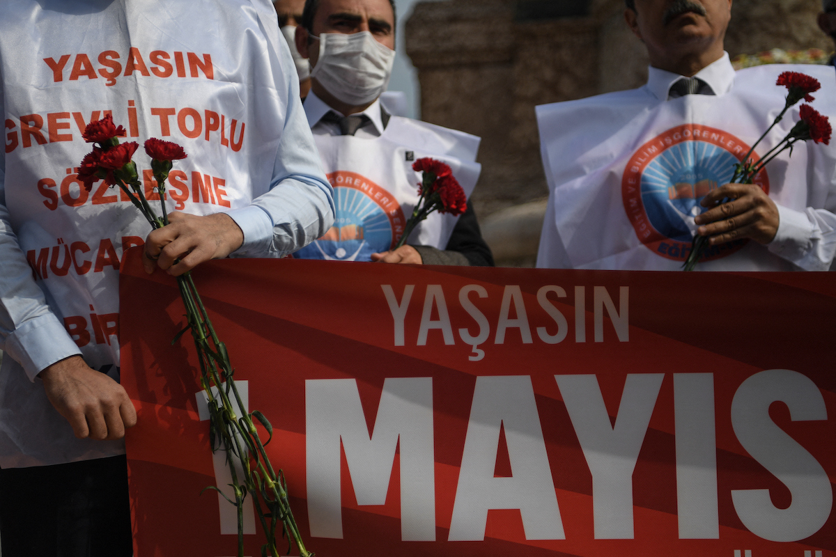 May Day in Turkey
